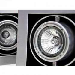 25730 Star 1 50W GU10 Sivaalti Yönlendirilebilir Armatür (Metalik Gri) - Thumbnail