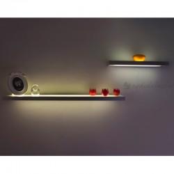Piano Işıklı Raf Aplik (45cm) - Thumbnail