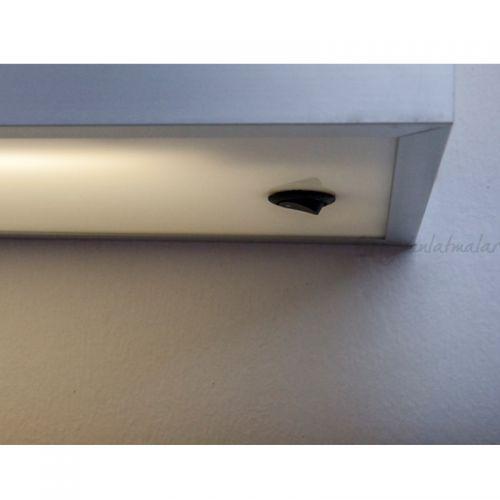 Piano Işıklı Raf Aplik (45cm)