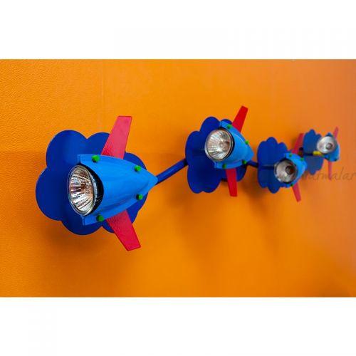 Origami 3000K Çocuk Odası Spotu (Mavi)
