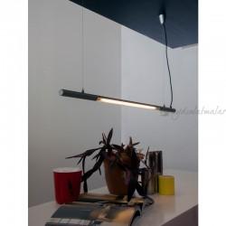 RELCO ITALIA - Performante 3000K Sarkıt Lamba 174,5cm (Metalik Gri)