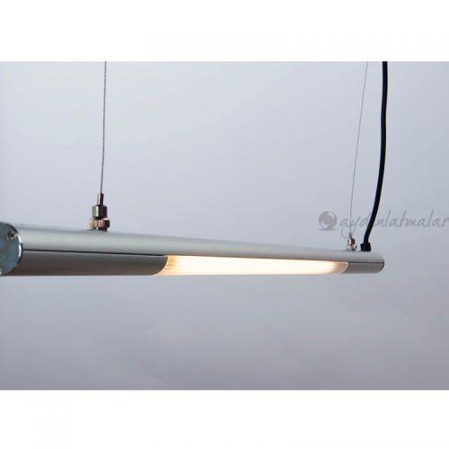 Performante 3000K Sarkıt Lamba 174,5cm (Metalik Gri)