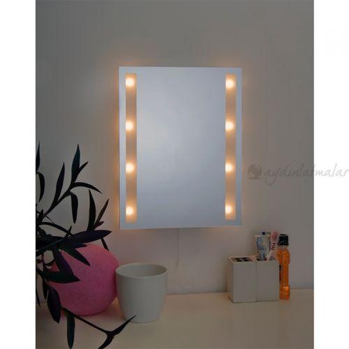 Specchio S Aynali Dekoratif Duvar Lambasi